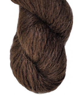 Chocolate Brown - 100% Alpaca - Bulky - 100 gr./ 120 yd.