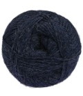 Dark mottled blue - 100% Alpaca - Fine - 100 gr./ 372 yd.