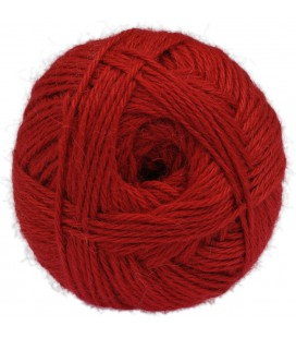 Red - 100% baby llama - Medium - 100 gr./ 218 yd.
