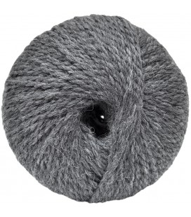 Alpaca and Sheep Wool - Grey - 100 gr.