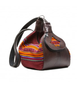 Purse Convertible Backpack - Genuine Leather
