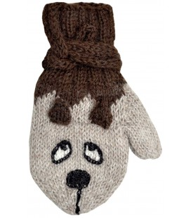 Animals Mittens - Pure Alpaca Wool