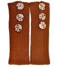 Legwarmers with buttons - Pure Alpaca Wool