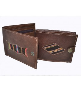 Wallet with Aguayo Applications - Genuine leather