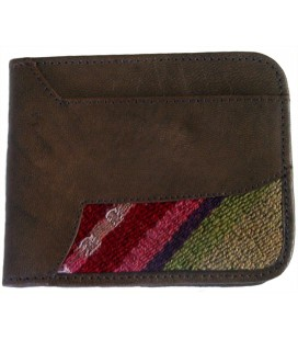 Wallet with division and aguayo - Genuine Leather