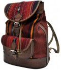 Aguayo Backpack with exterior pocket