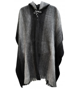 """Chacaltaya"" Poncho with Hood - Extra large"