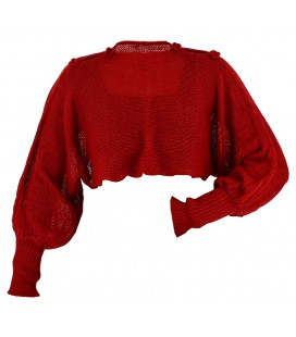 Bolero - Crop top - Alpaca wool
