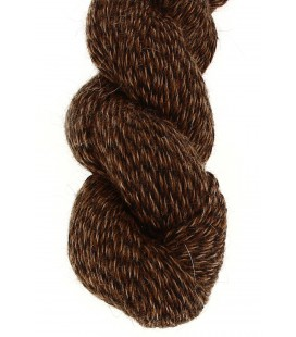 Baby lama wool - Tricolor Brown - 100 gr.