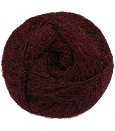 Dark mottled bordeaux - 100% Alpaca - Fine - 100 gr./ 372 yd.