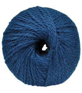 Alpaca and Sheep Wool - Blue - 100 gr.