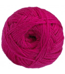 Hot pink - 100% baby llama - Medium - 100 gr./ 218 yd.