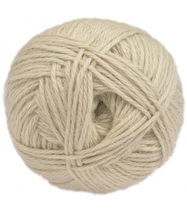 Raw white - 100% baby lama - Medium - 100 gr./ 218 yd.