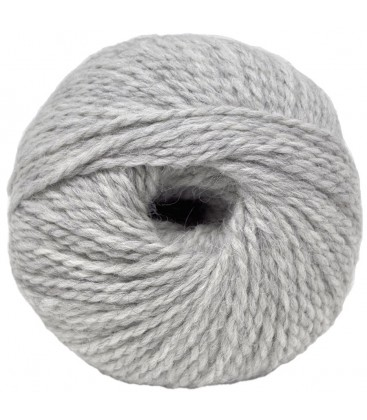 Alpaca Sheep Wool - Light grey - 100 gr.