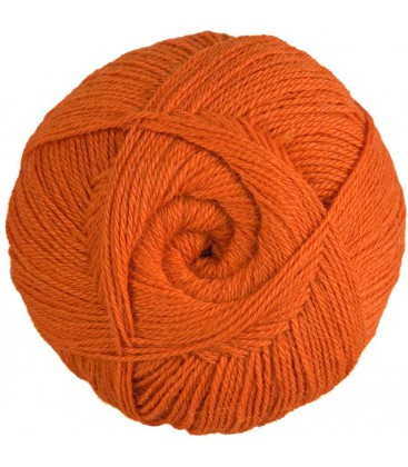 Pure Alpaca Wool - Orange - 100 gr.