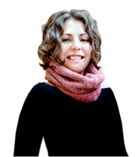 Speckled neck scarf - Pure Alpaca Wool